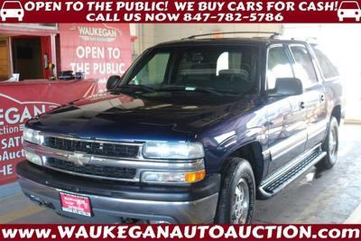 2002 Chevrolet Suburban 1500 LT for sale VIN: 1GNEC16Z92J333732