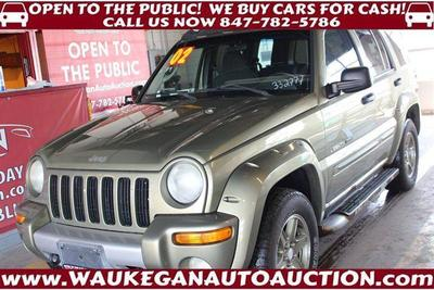 2002 Jeep Liberty Renegade for sale VIN: 1J4GL38K12W332777