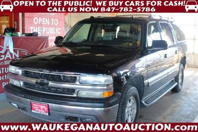2004 Chevrolet Suburban  for sale VIN: 3GNFK16Z34G149933