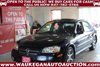 2003 Nissan Maxima GLE for sale VIN: JN1DA31A43T437125