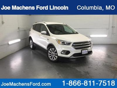 2017 Ford Escape Titanium for sale VIN: 1FMCU0J92HUC54310