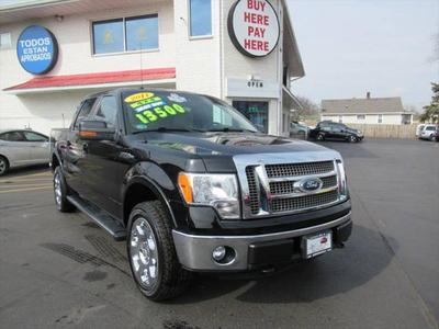 2011 Ford F-150 Lariat for sale VIN: 1FTFW1EFXBFB96332