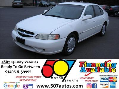2001 Nissan Altima GXE for sale VIN: 1N4DL01D31C192661