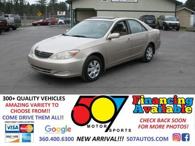 2003 Toyota Camry XLE for sale VIN: 4T1BE30K03U767580