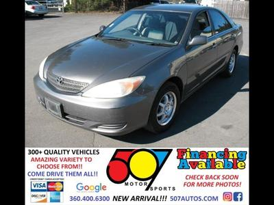 2003 Toyota Camry XLE for sale VIN: 4T1BE32K13U747271