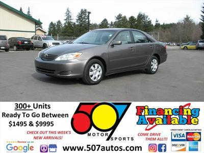 2004 Toyota Camry XLE for sale VIN: 4T1BE32K54U821549