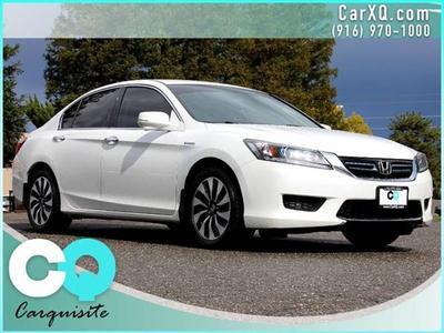 2014 Honda Accord Hybrid Base for sale VIN: 1HGCR6F30EA005113
