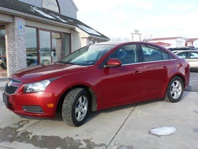 2011 Chevrolet Cruze LT for sale VIN: 1G1PF5S97B7125313