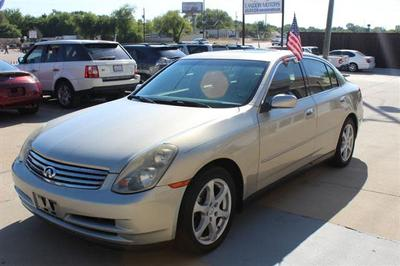 INFINITI G35 2004 for Sale in McKinney, TX