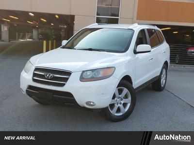 2007 Hyundai Santa Fe Limited for sale VIN: 5NMSH13E47H127701