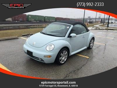 2003 Volkswagen New Beetle GLS 1.8T for sale VIN: 3VWCD21Y03M332312