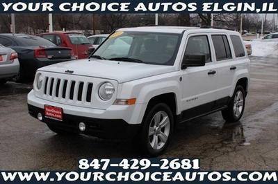 2011 Jeep Patriot Latitude X for sale VIN: 1J4NF1GB5BD102059