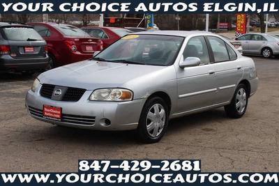 2004 Nissan Sentra 1.8 for sale VIN: 3N1CB51D84L873643