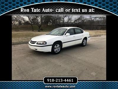 2005 Chevrolet Impala Base for sale VIN: 2G1WF55K559193851