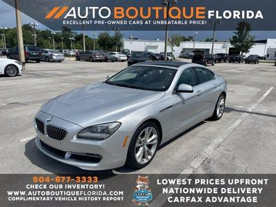 BMW 640 Gran Coupe 2013 for Sale in Jacksonville, FL