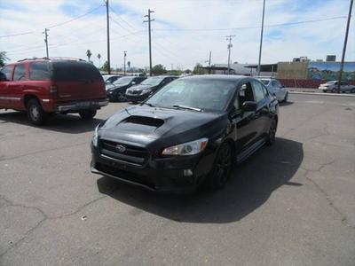 2015 Subaru WRX Base for sale VIN: JF1VA1A66F9818418