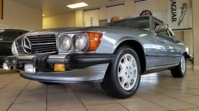 1989 Mercedes-Benz SL-Class 560SL for sale VIN: WDBBA48D0KA091559