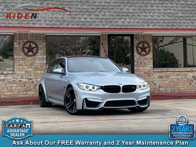 2017 BMW M3 Base for sale VIN: WBS8M9C3XH5G85068