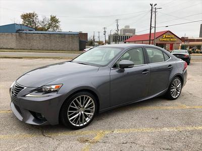 2014 Lexus IS 250 Base for sale VIN: JTHBF1D20E5018287