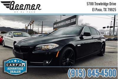 2011 BMW 528 i for sale VIN: WBAFR1C59BC740562