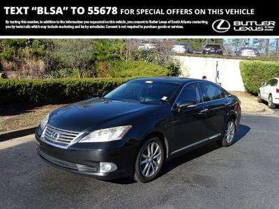 2011 Lexus ES 350 Base for sale VIN: JTHBK1EG2B2435591