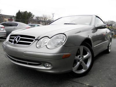 2005 Mercedes-Benz CLK-Class 320 Cabriolet for sale VIN: WDBTK65G35T049181