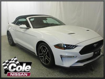 2018 Ford Mustang EcoBoost for sale VIN: 1FATP8UH1J5125199