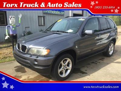 2002 BMW X5 3.0i for sale VIN: 5UXFA53502LP38764