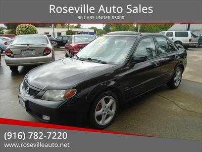 2002 Mazda Protege  for sale VIN: JM1BJ226321577606