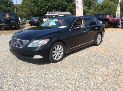 2008 Lexus LS 460 Base for sale VIN: JTHBL46F585078659
