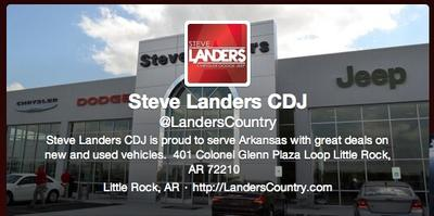 Steve Landers Dodge >> Steve Landers Chrysler Dodge Jeep Ram In Little Rock