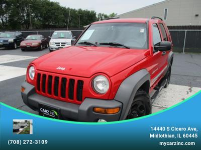 2002 Jeep Liberty Sport for sale VIN: 1J4GL48K72W324348