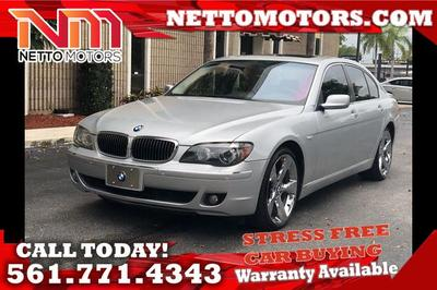 2006 BMW 750 i for sale VIN: WBAHL83576DT00276