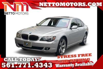 2006 BMW 750 i for sale VIN: WBAHL83576DT00276