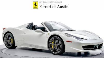 2015 Ferrari 458 Spider Base for sale VIN: ZFF68NHA4F0206106