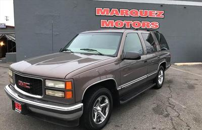 1997 GMC Yukon SLT for sale VIN: 1GKEC13RXVJ747513