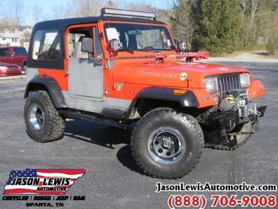 1991 Jeep Wrangler S for sale VIN: 2J4FY19P9MJ149598