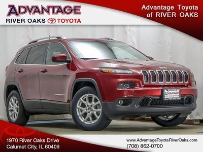 2016 Jeep Cherokee Latitude for sale VIN: 1C4PJMCS1GW341916