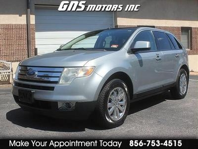 2007 Ford Edge SEL Plus for sale VIN: 2FMDK49C07BB47763