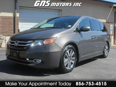 2014 Honda Odyssey Touring for sale VIN: 5FNRL5H95EB109254