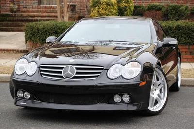 2003 Mercedes-Benz SL-Class SL500 Roadster for sale VIN: WDBSK75F83F014169