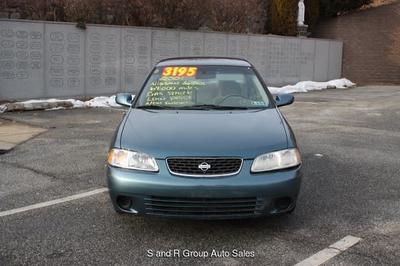 2001 Nissan Sentra GXE for sale VIN: 3N1CB51D81L485534