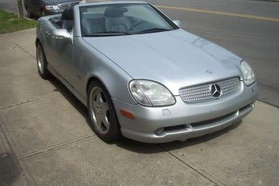 2001 Mercedes-Benz SLK-Class  for sale VIN: WDBKK49F81F221196
