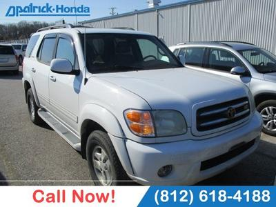 2002 Toyota Sequoia Limited for sale VIN: 5TDBT48AX2S094232