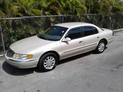 1999 Lincoln Continental  for sale VIN: 1LNHM97V9XY719574