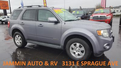 2008 Ford Escape Limited for sale VIN: 1FMCU94198KB75609
