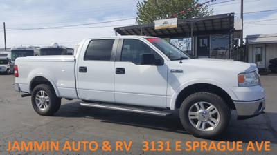 2008 Ford F-150 Lariat SuperCrew for sale VIN: 1FTPW14V18FA99090