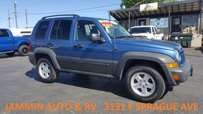 2006 Jeep Liberty Sport for sale VIN: 1J4GL48K66W288092