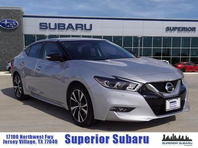 2017 Nissan Maxima 3.5 SV for sale VIN: 1N4AA6APXHC429162