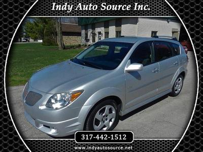 2008 Pontiac Vibe  for sale VIN: 5Y2SL65858Z418840